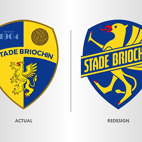 Stade Briochin Crest Redesign