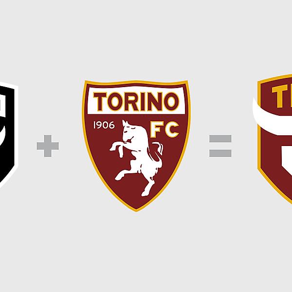 Torino FC Mashup Redesign Logo