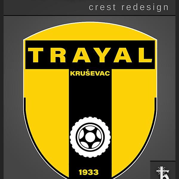 Trayal Krusevac - Crest Redesign