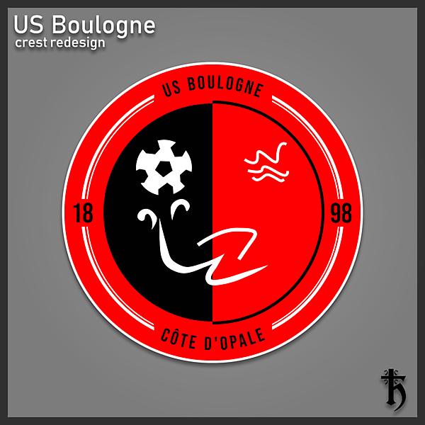 US Boulogne - crest redesign