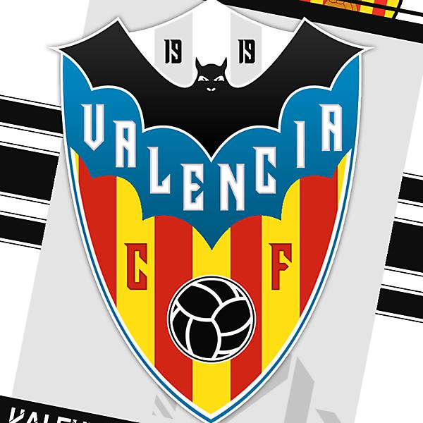Valencia C.F Rebrand