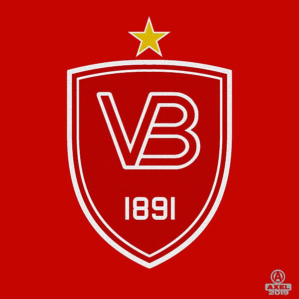 VEJLE BK - crest redesign