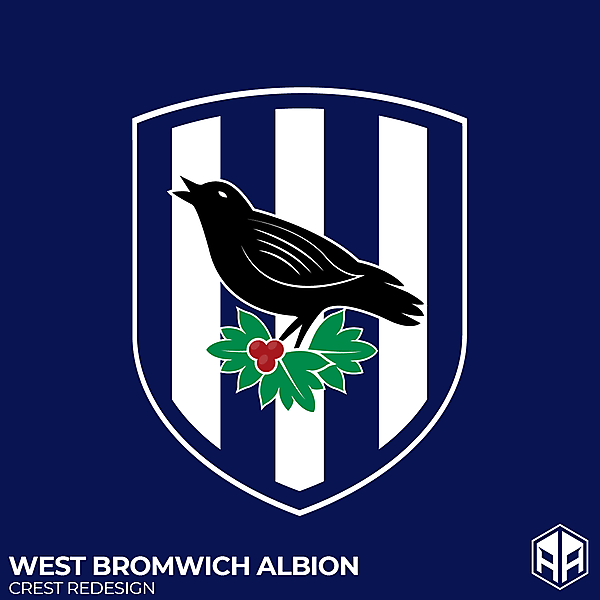 West Bromwich Albion crest redesign