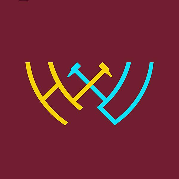 West Ham United alternative logo concept .