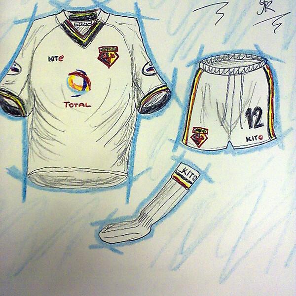 Watford home kits recent history