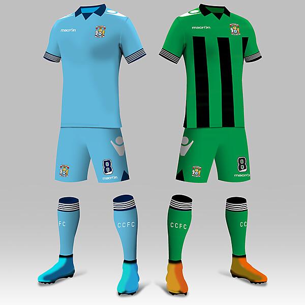 15/16 Coventry City Kits
