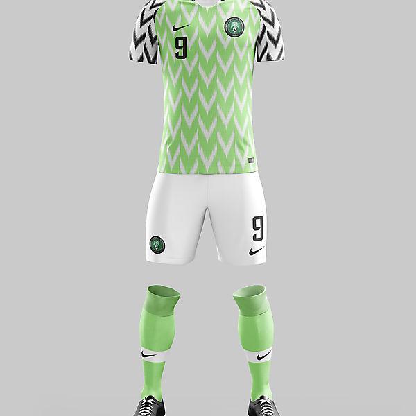 #1 - Nigeria Home '18