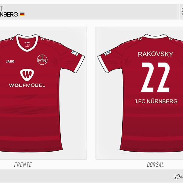 1. FC Nürnberg | home kit