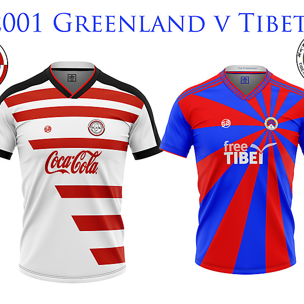 2001 Greenland vTibet