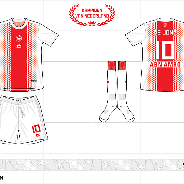2012-13 ajax home kit