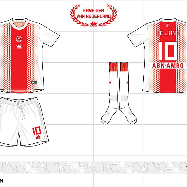 2012-13 ajax home kit