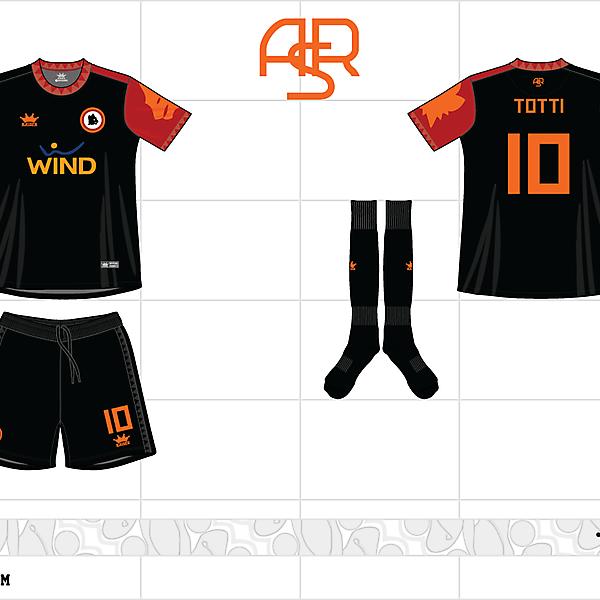 2012-13 as roma 3rd kit