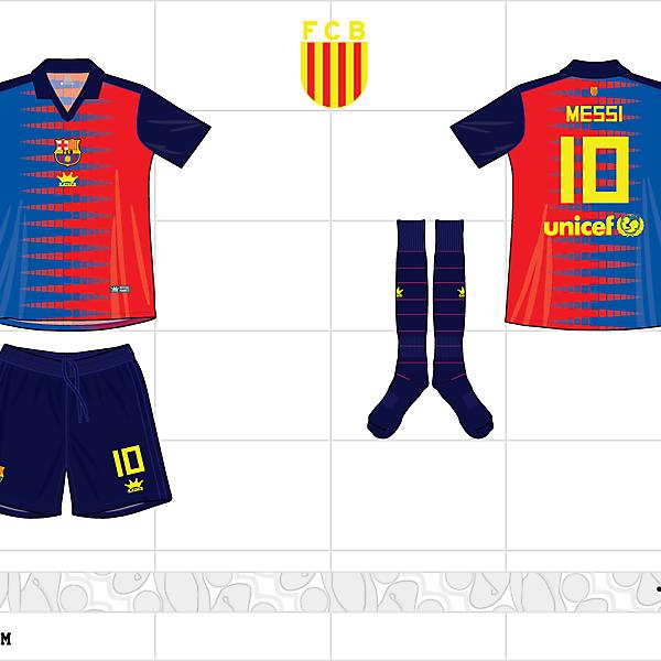 2012-13 barcelona home kit