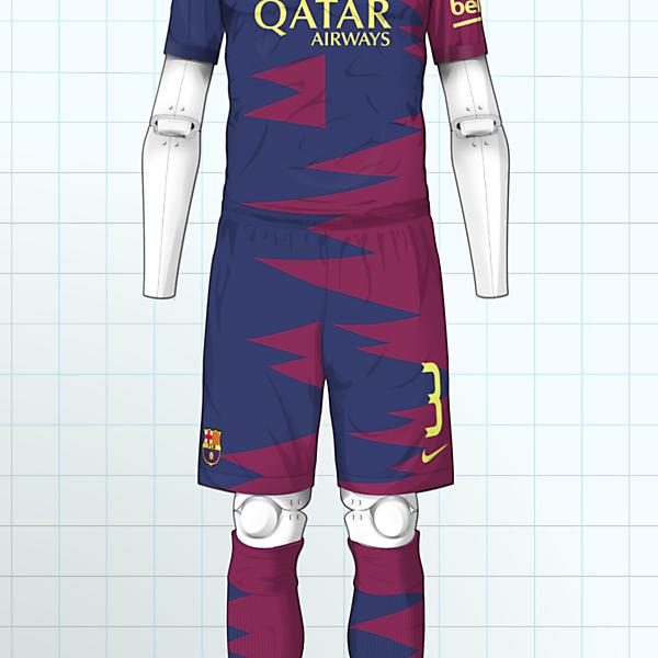 2016-17 Barcelona Home Kit