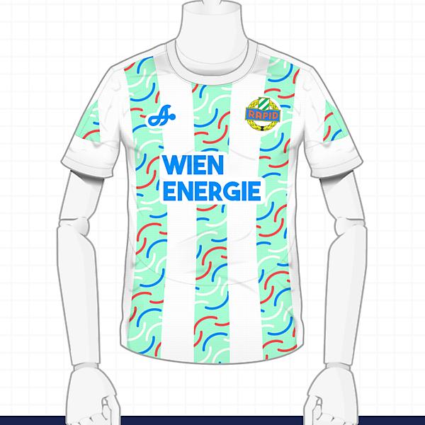 2016-17 Rapid Wien Away Kit by Astro