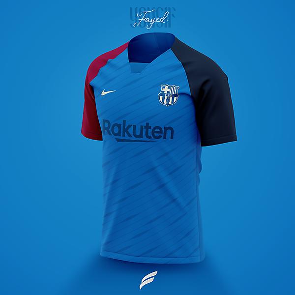 FC Barcelona 21-22 Away Kit Leaked