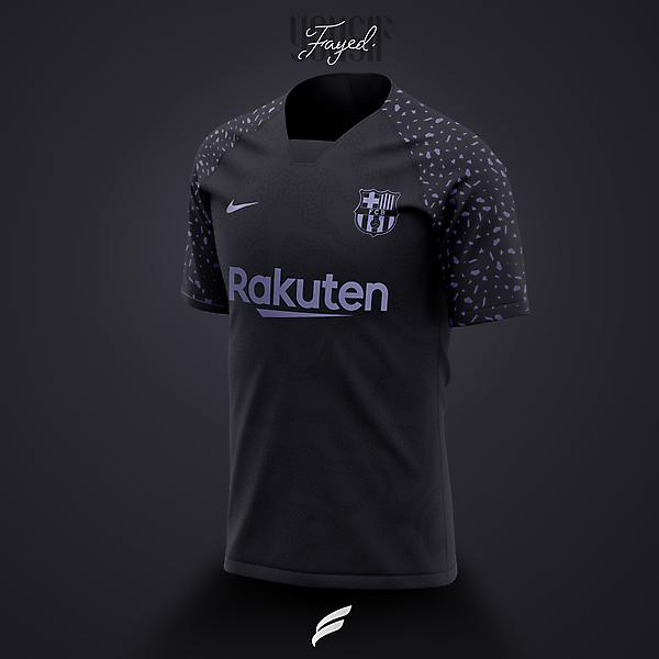 FC Barcelona 21-22  third Kit Leaked