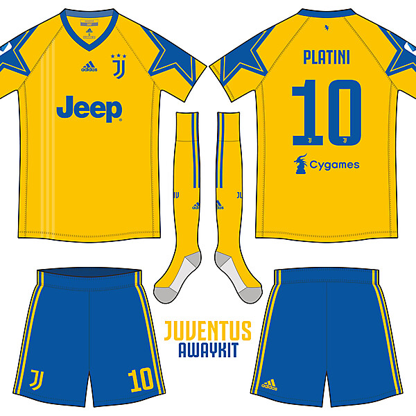 尤文图斯 Juventus_Away