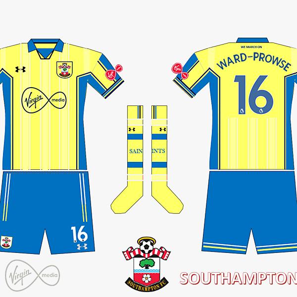 Southampton FC Away Kit 2019/2020 Retro V.2
