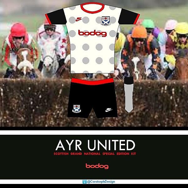 Ayr United Scottish Grand National Kit