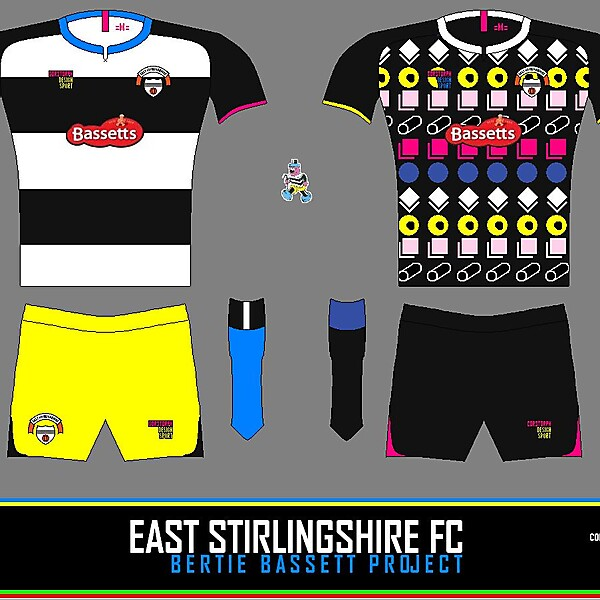 East Stirlingshire Bertie Bassett
