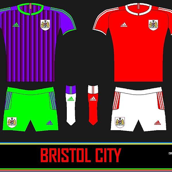 Bristol City 3rd + Alternative Home