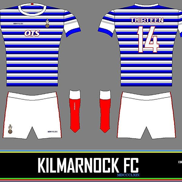 Kilmarnock - Hoops Home Kit