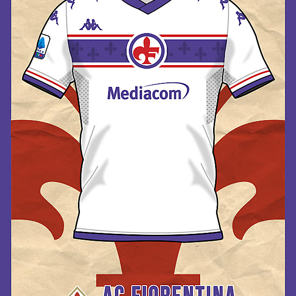 Ac Fiorentina Away shirt