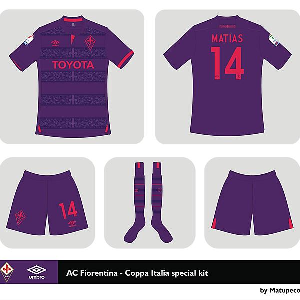 AC Fiorentina Coppa Italia special kit