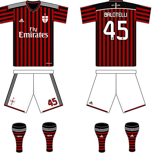 AC Milan 14/15 Fantasy Home Kit
