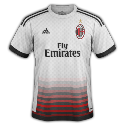 AC Milan 2015/16 Away Kit