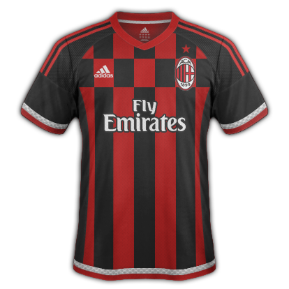 AC Milan 2015/16 Home Kit