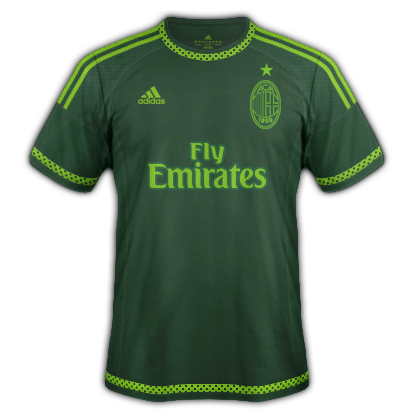 AC Milan 2015/16 Third Kit
