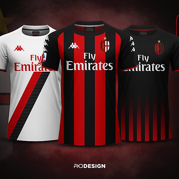 AC Milan | Kappa | + New Crest