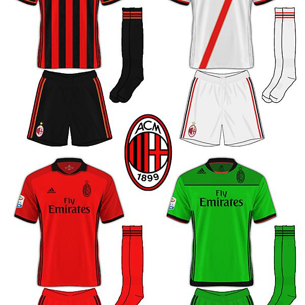 AC Milan Adidas v2