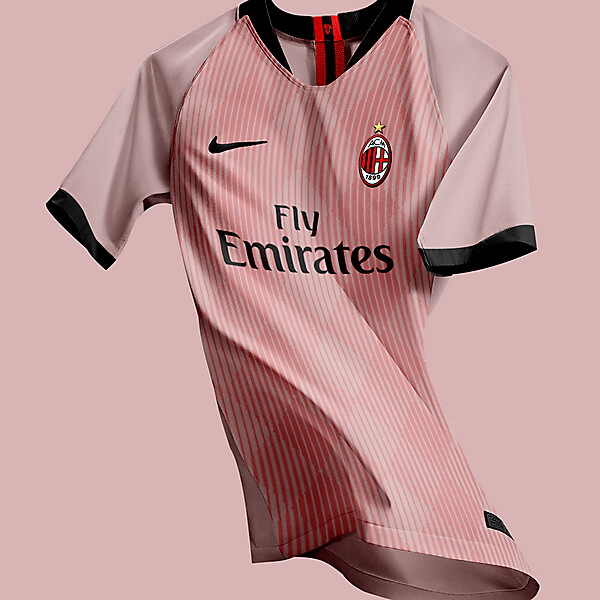 AC Milan away jersey concept