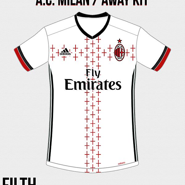 A.C. Milan Away Kit