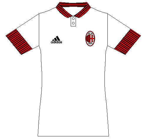 AC Milan away kit concept