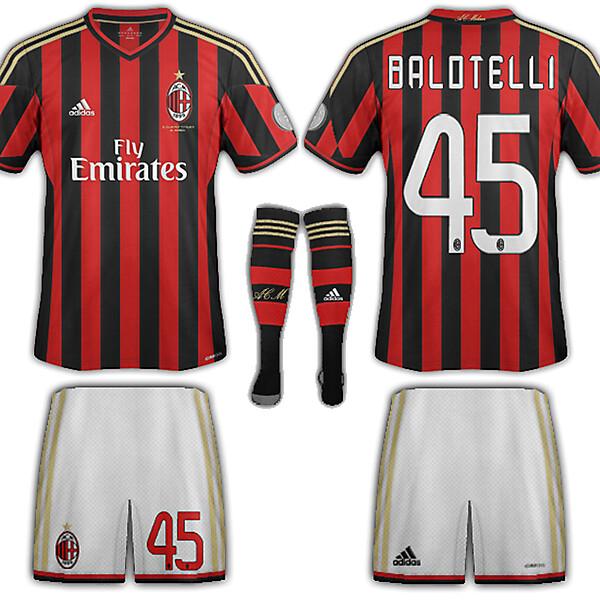 AC Milan Fantasy home 2013-14