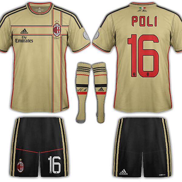 AC Milan Fantasy third 2013-14