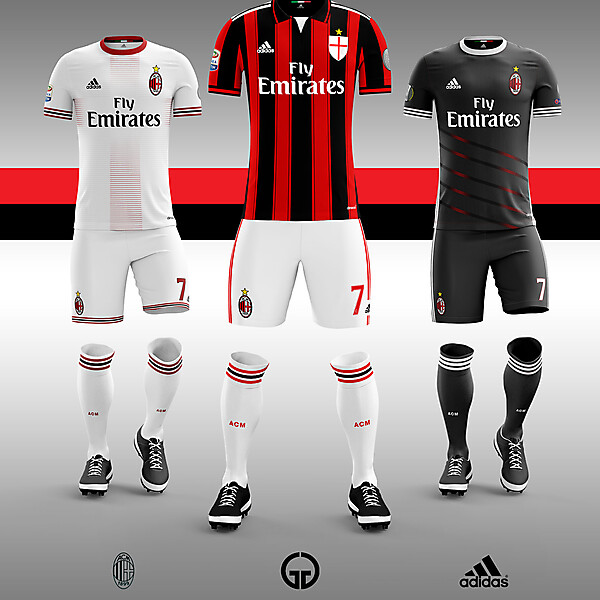 AC Milan kit concept 17-18