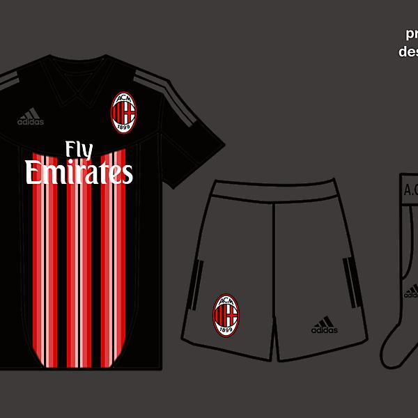 Ac Milan Kits Home 2017