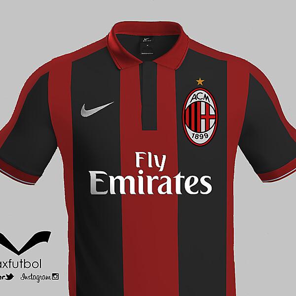 AC Milan nike kit design