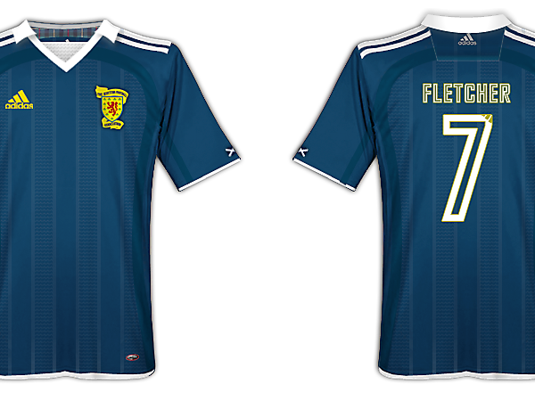 Scotland home kit - adidas