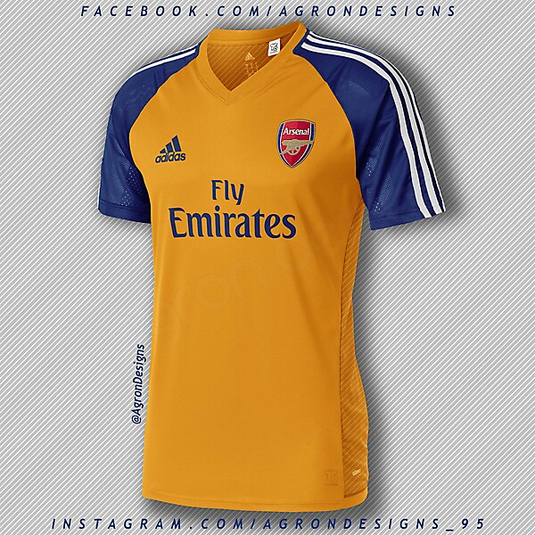 Adidas Arsenal Away Kit Concept