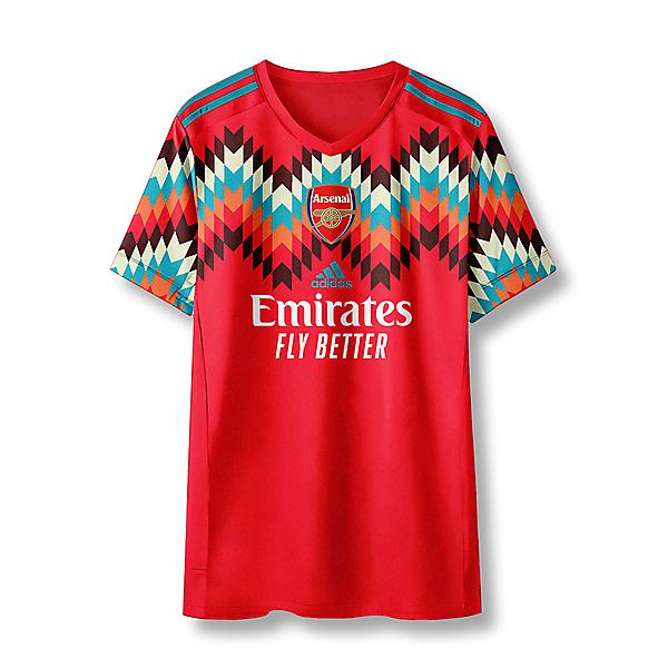 adidas Arsenal Away Shirt Concept