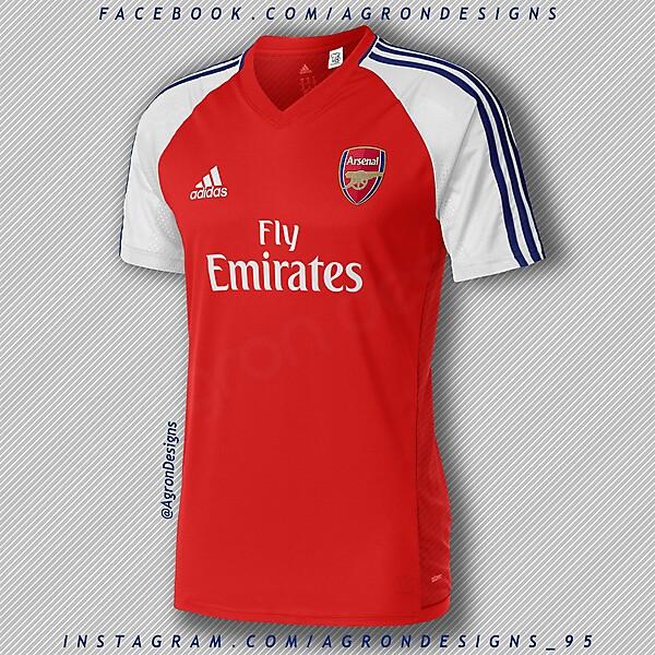 Adidas Arsenal Home Kit Concept