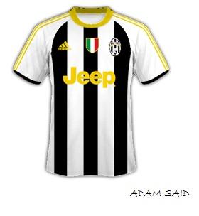 Adidas Juventus 15-16