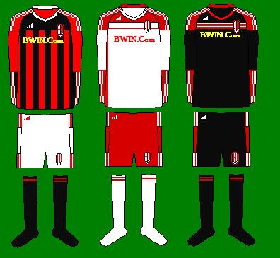 AC Milan Kits