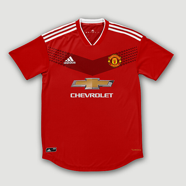 Adidas Man.United Home Concept (@ryndesign11)
